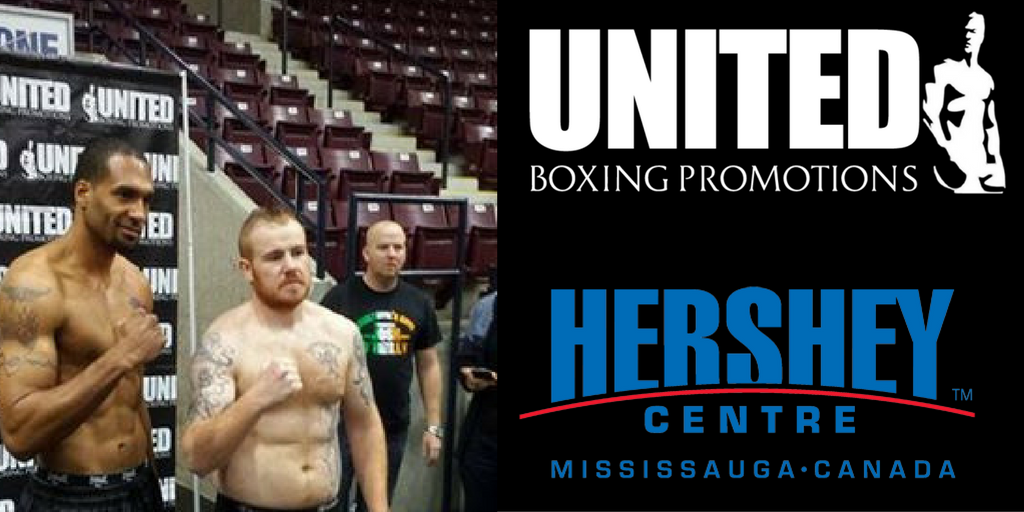 A few hours before the fight at Hershey Centre, Mississauga: The Highlander & Atomic